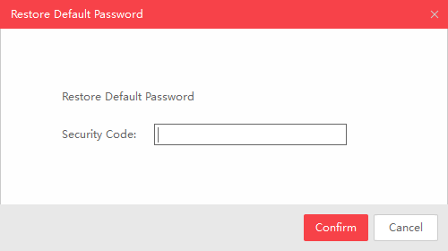 The Forgot Password prompt